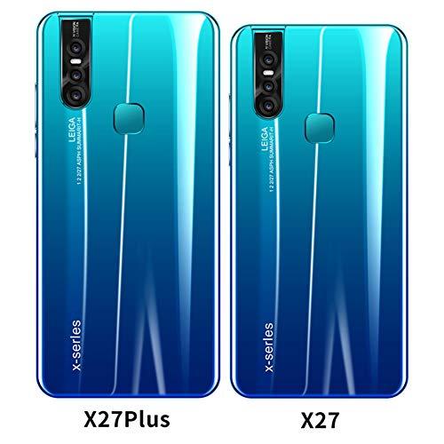Mask X27Plus 4GLTE Android 8,0 Sim Gratuito Desbloqueado Smartphone 5,8 Pulgadas FHD + con batería de 4000mAh 4GB de RAM + 64GB ROM Dual Sim Dual Cámara teléfono móvil (gradiente)