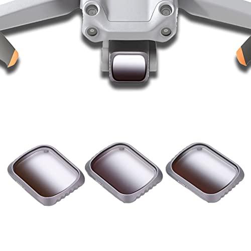 Filtro 3 Pezzi/Set GND 8 GND 16 GND 32 Filtro Sfumato Lente in Vetro Ottico per Mavic Air 2S Filtro Lente in Vetro Ottico Filtro Protettivo per Fotocamera Ad Alta Definizione