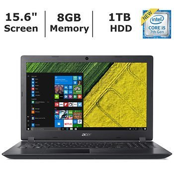 Compare Acer Aspire 3 (Acer-15.6-8GB-1TB-i5) vs other laptops