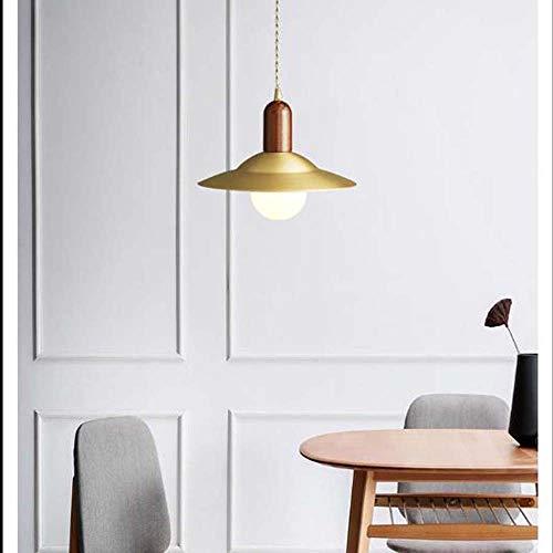 DC Wesley Decoración de mesa de comedor de latón nórdico, estilo de la industria de cobre, estilo vintage, luces de barra de altavoces 27 x 25 cm