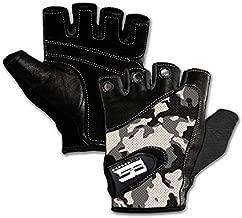 Gloves for Men No Fingers - Gym Gloves Women - Pushing Gloves - Workout Items - Calisthenics Gym Gloves - Calisthenics Gloves - Powerlifting Gloves - Rock Climbing Women Gloves - Gloves for Exercise