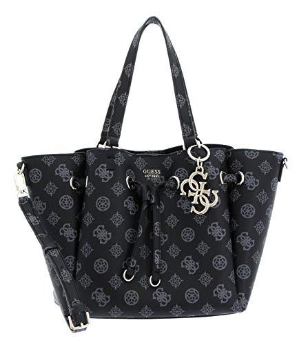 Guess Digital Drawstring Bag für Damen, schwarz, Einheitsgröße