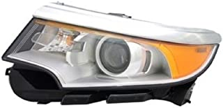 Go-Parts OE Replacement for 2011 - 2014 Ford Edge Front Headlight Assembly Housing / Lens / Cover - Left (Driver) Side - (Sport) BT4Z 13008 H FO2502292 Replacement For Ford Edge