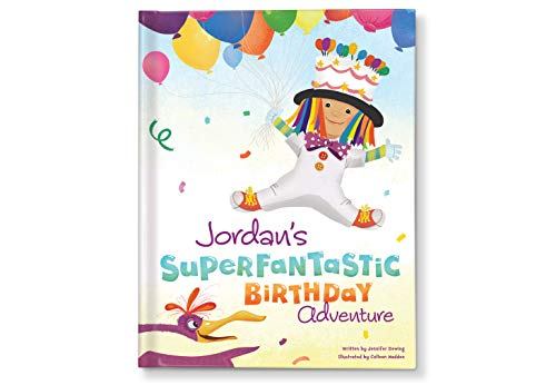 Unisex Birthday Gift for Boys Girls, Personalzied Books for Kids