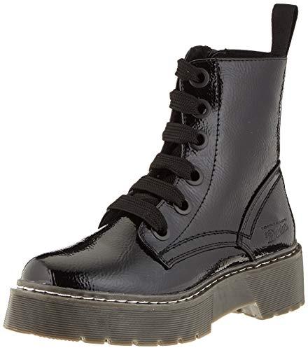 Tom Tailor Womens 9096401 Mid Calf Boot Bootie Boot, Black, 7.5 UK
