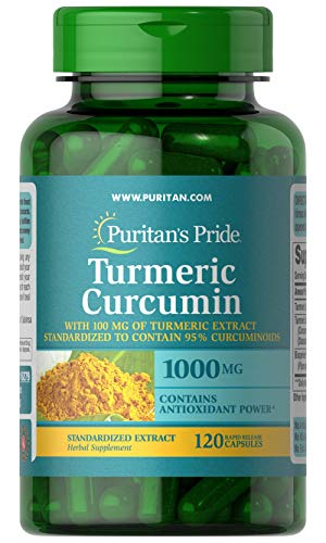 Açafrão Curcumina 1000mg E Bioperine 5mg 120 Caps Turmeric