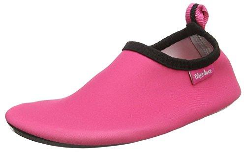 Playshoes Unisex-Kinder Badeslipper Aqua-Schuhe, Pink (Pink), 18/19 EU