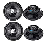 "4 PLANET AUDIO PX12 12"" 4000W Car Audio Shallow Subwoofers Subs Power Woofers"