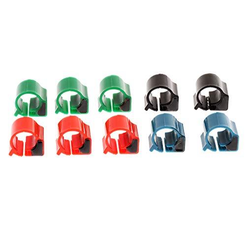 FLAMEER 10X Anillo Pie de RFID Pájaro Accesorios de Mascota Conveniente Cómodo