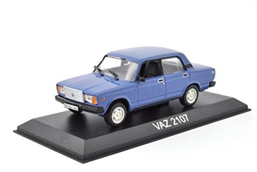 DieCast Metall Modellauto 1:43 Russischer Lada WAZ 2107 Limousine blau