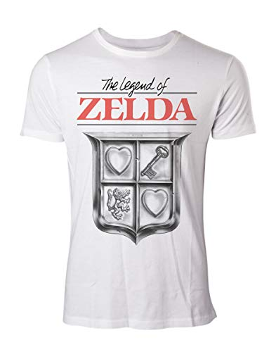 The Legend Of Zelda Game Cover T-shirt blanc XXL