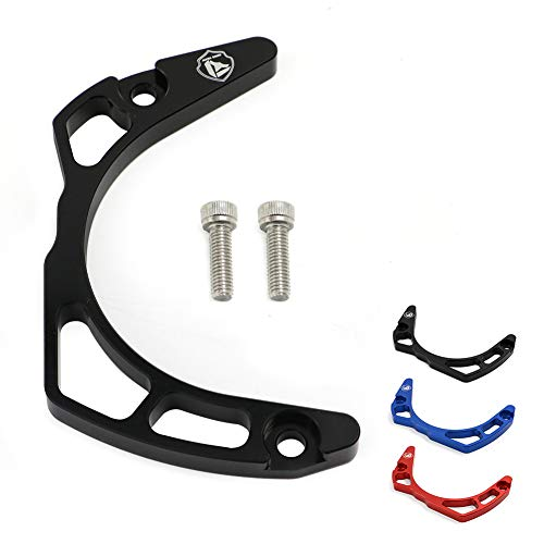 Motoparty YFM700 Case Saver Engine Case Protection For Yamaha Raptor 700 ATV Quad 2006-2019 YFM YFM700 YFM700R Chain Guard Case Saver Cover (Also fits the GYTR 2007)