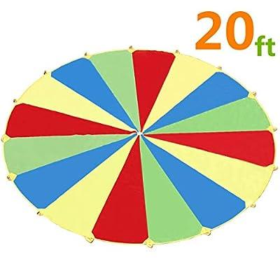Juego de tiendas de campaña para niños de Sonyabecca 210T de interior y exterior (1,82 m/6m) de Sonyabecca
