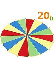 Juego de tiendas de campaña para niños de Sonyabecca 210T de interior y exterior (1,82 m/6m)