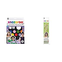 Product 1: Suitable For Sensitive Skin – Snazaroo face paints are specially formulated to be friendly to the most delicate skin and are fragrance free. All Snazaroo face paints have been reviewed by an independent professor of dermatology and profess...