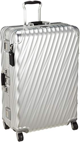TUMI - 19 Degree Extended Trip Packing Case Large Suitcase - Hardside Luggage for Men and Women - Silver