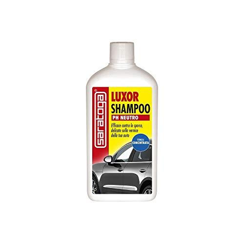 SARATOGA. Shampoo CONCENTRATO Auto Luxor SGRASSA PULISCE PH Neutro LT.1