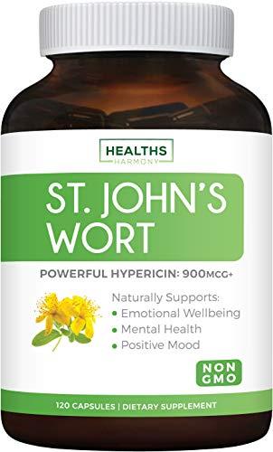 St John's Wort Extract for Mood & Mental Health