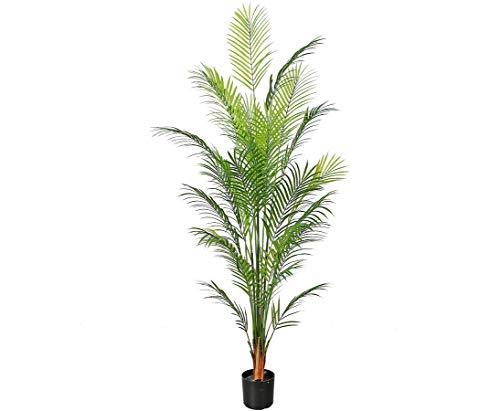 kunstpflanzen-discount.com Sztuczna palma Areca z 150 cm - sztuczna palma dekoracyjna palma do dekoracji