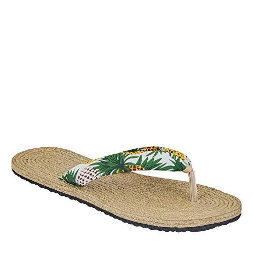 cklass 710-19 Calzado Sandalia Mujer Pata De Gallo Floreada Talla 24