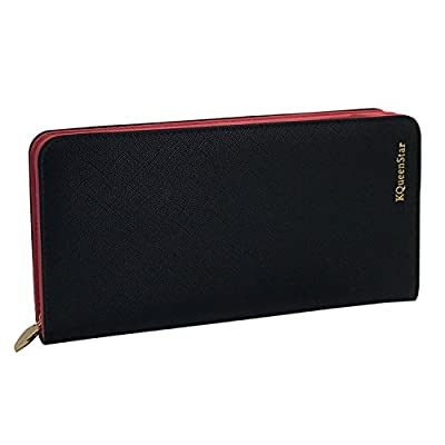 KQueenStar Women Lady Leather Wallet