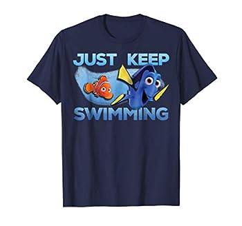 Disney Pixar Finding Dory Just Swimming With Nemo T-Shirt T-Shirt