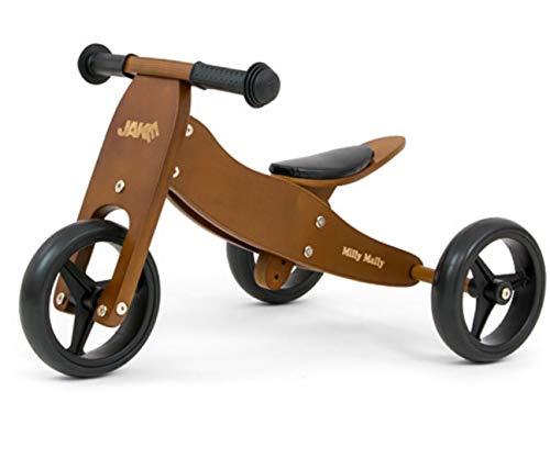 Milly Mally 5901761125214 Ride on Jake Dark Natural, marrón