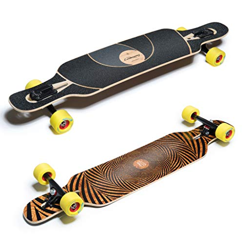 Unbekannt Loaded Longboard Komplettboard Tan Tien Drop Through 99cm Flex 1 (Harter Flex)