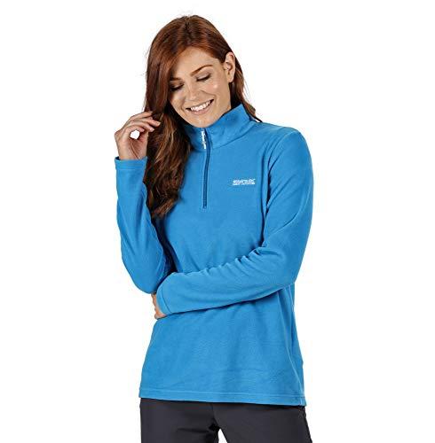 Regatta Polaire Sweethart légère et confortable avec ouverture 1/2 Zip au col Fleece Femme Blue Aster FR: 2XL (Taille Fabricant: 20)