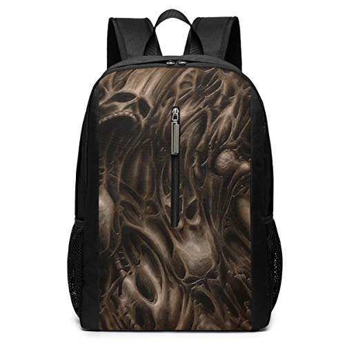 Doom Sci fi Fps Shooter Action Fighting Warrior Series Business Laptop Backpack Resistant Bag Daypack Fits 17 Inch Computer Notebook Backpack Casual Daypack