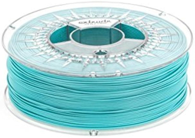 Extrudr® PLA NX2 MATT ø1.75mm (2.50kg) 3D Drucker Filament, TÜRKIS MATT (RGB 080 209 204) - Made in EU - höchste Qualität zum fairen Preis  B0776R6JRV