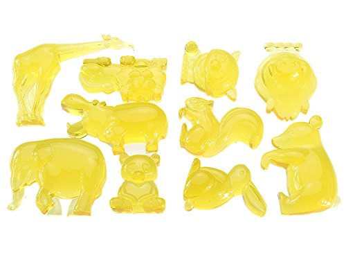 カロラータアニマルアイストレー(動物)シリコンチョコレート型[食洗機可能]世界と日本の動物約10×13.5×2.8cm