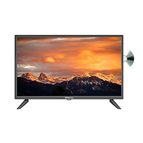 "EMtronics 24"" Inch HD Ready TV with Built-in DVD and Freeview, HDMI, USB, VGA"