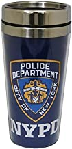 Collection of City Branded Beautifully Designed Travel Mugs (NYPD)