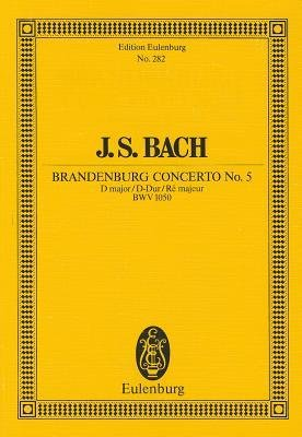 J S Bach Brandenburg Concerto No 5 Author Johann Sebastian Bach Published On August 1985