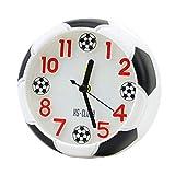 LIOOBO Réveil créatif Bureau réveil Mignon Football Football Forme réveil de Chevet - (Pas de Batterie)