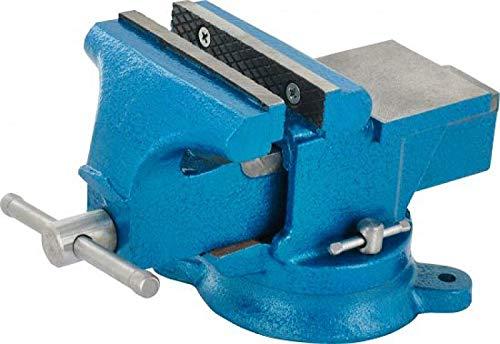 Triuso Parallel Schraubstock 80mm drehbar Backenbreite 80mm Schraubstock Parallel Schraubstock Spannmittel Werkbank