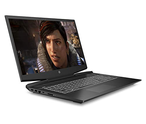HP Pavilion 17-cd1014na 17.3 Inch Full HD Gaming Laptop - (Shadow Black) (Intel Core i7-10750H, NVIDIA GeForce GTX 1660 Ti (6 GB Dedicated) Graphics, 16 GB RAM, 512 GB SSD, 1 TB HDD, Windows 10 Home)