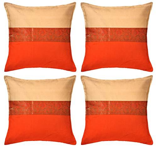 Cojín Naranja Sofa marca ANJANIYA