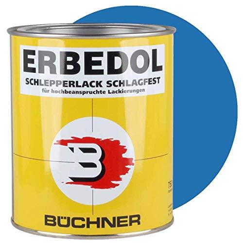 Schlepperlack, HIMMELBLAU, RAL 5015, 750 ml, Traktor, Trecker, Frontlader, lackieren, Farbe, restaurieren, schnelltrocknend, deckend Lack, Lackierung,