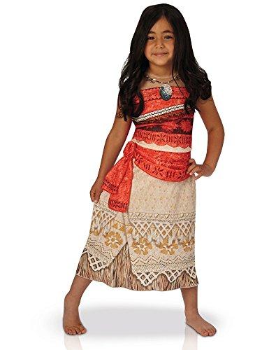 Disfraz clásico Vaiana 5/6 años – Disney niños Carnaval – 020 ...