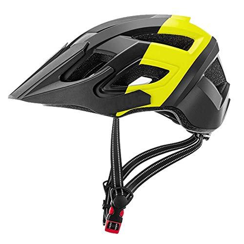 Casco de Bicicleta de montaña Easy Visor Adjunto Protección Seguridad Cómodo Ciclismo Ligero Montaña y Carretera Cascos de Bicicletas para Hombres Adultos Mujeres Unisex Allround Casco de Ciclismo,Pr ✅