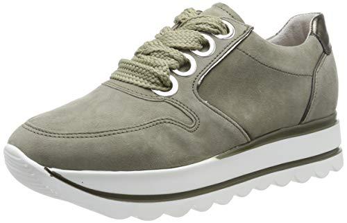 Gabor Shoes Gabor Casual, Zapatillas para Mujer, Verde (Schilf/Oliv 11), 38 EU