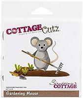 """CottageCutz Dies-Gardening Mouse 4.2""""X2.9"""""""