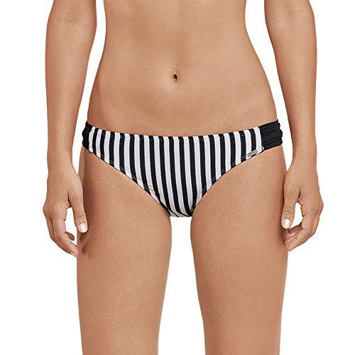 Schiesser Damen Mix & Match Bikinislip Mini Bikinihose, Schwarz (Schwarz 000), 42