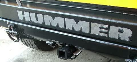 Hummer H2 - Rear Bumper Letter Inserts