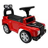 Luvlap - 18527 Explorer Jeep Car Ride On for Kids, Battery Operated Music