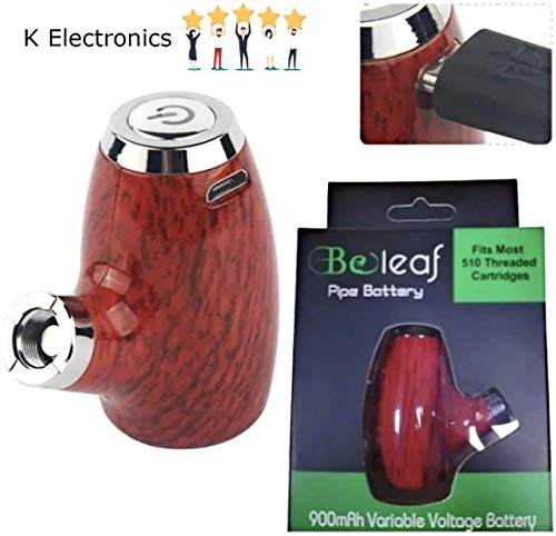 Beleaf Limited Edition 5/10 Threaded Old Man Wood Style Stylus Battery