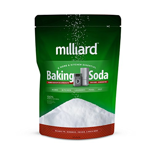 Milliard 10lbs Baking Soda / Sodium Bicarbonate USP - 10 Pound Bulk Resealable Bag