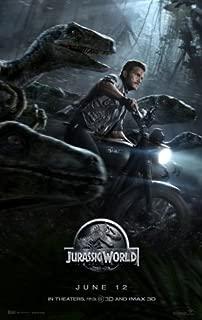Jurassic Park 4 Jurassic World Movie Limited Print Photo Poster Chris Pratt Bryce Dallas Howard Size 11x17 #1